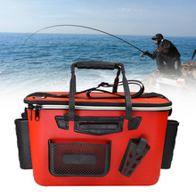 Thickened Tackle Storage Shoulder Strap Fishing Box EVA Zipp