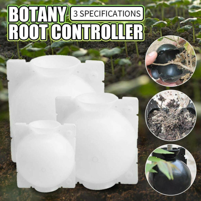 1Pc 5 8 12Cm Plant Rooting Ball Grafting Rooting Growing Box Breeding Case For Garden Case Equipment High-pressure Transmission