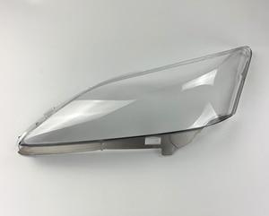 Image 5 - שקוף רכב פנס עדשת זכוכית פגז מנורת אהיל פנס כיסוי לקסוס ES סדרת ES350 2006 2007 2008