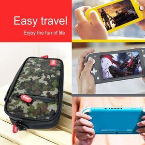 Image 5 - Сумка для хранения игровой консоли iPega PG 9185/9183, сумка, чехол, сумка через плечо, подходит для аксессуаров для консоли Nintendo Switch Lite
