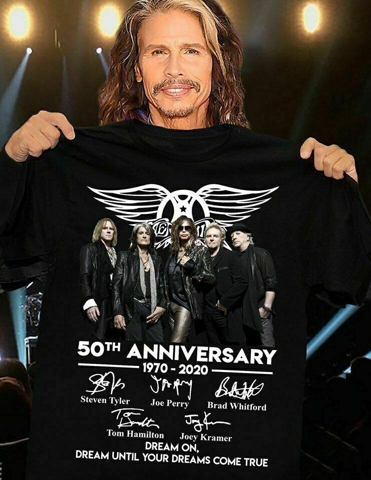 Aerosmith 50Th Anniversary Concert Tour 2009 T Shirt Tee Shirt