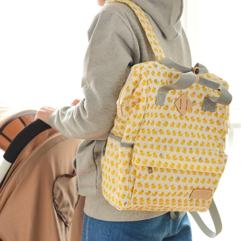 Diaper Bag Fashion Multi-functional Large Capacity Handbag Backpack Nursing Portable MOTHER'S Bag Wholesale