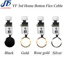 10 Pcs Yf 3rd Hx 3rd Gen Universele Home Knop Flex Kabel Voor Iphone 7 7G 8 8G plus Menu Toetsenbord Terugkeer Op Off Fuction Oplossing