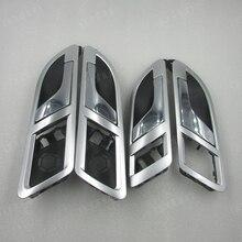Для 08-12 VW Lavida/Skoda Superb 01-08 внутренняя дверная ручка внутренний ключ открыть дверной ключ серебряное покрытие