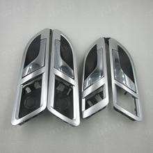 08 12 VW Lavida Skoda Superb 01 08 iç kapı kolu kolu iç anahtarı açık kapı anahtarı Gümüş kaplama