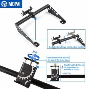 Image 3 - MOPAI GPS Stand Halter für Jeep Wrangler JK Auto Handy Unterstützung Halter Zubehör für Jeep Wrangler JK 2007 2008 2009 2010