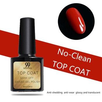 8ml UV Gel Nail Polish Top coat 2pcs Base and Top coat Varnishes Nail Gel primer Long Lasting Soak off  UV Gel Nail Art Manicure 1
