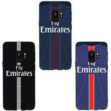 MA Football France PSG Jersey Style Phone Case Cover For Samsung Galaxy S6 S7 edge S8 plus S9 plus S10 plus lite Soft Case(China)