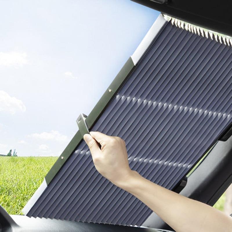 Sunshade Car Window Sun Shade Car Curtain Car Shade Sun Protection Car Sunshade  Private Car SUV Truck All Can Use Size 65cm.