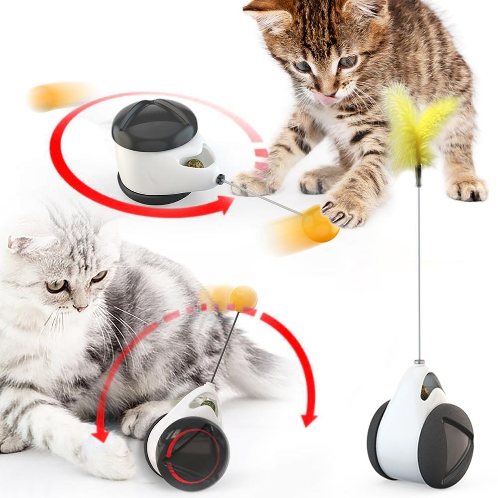 Игрушки-качели для кошек, котят, интерактивная балансирующий игрушка для кошек 1