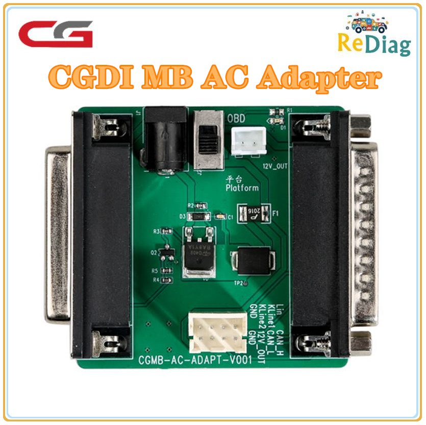 CGDI Prog MB For Benz AC Adapter For Data Acquisition Work With Mercedes W164 W204 W221 W209 W246 W251 W166