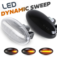 Led Side Marker Light Repeater Lamp Voor Peugeot 206 207 307 407 Partner Citroen Expert Citroen Berlingo Xsara Elysee Jumpy c3 C5