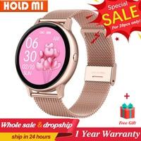 DT88 pro-reloj inteligente para mujer, accesorio de pulsera resistente al agua IP67 con control de ritmo cardíaco, presión arterial, oxígeno, ECG y seguimiento de actividad deportiva