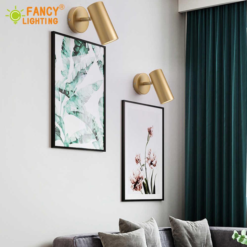 Lâmpada para livre) lâmpada de parede led moderna, lâmpada de parede com ângulo ajustável, varinha, quarto/banheiro, lâmpada para iluminação de espelha