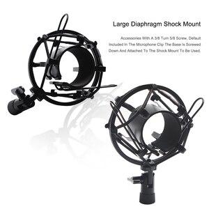 Image 3 - Mikrofon nożycowy stojak z ramieniem Bm800 uchwyt statyw stojak mikrofonowy F2 z pająkiem wspornik wspornikowy uniwersalny uchwyt amortyzujący