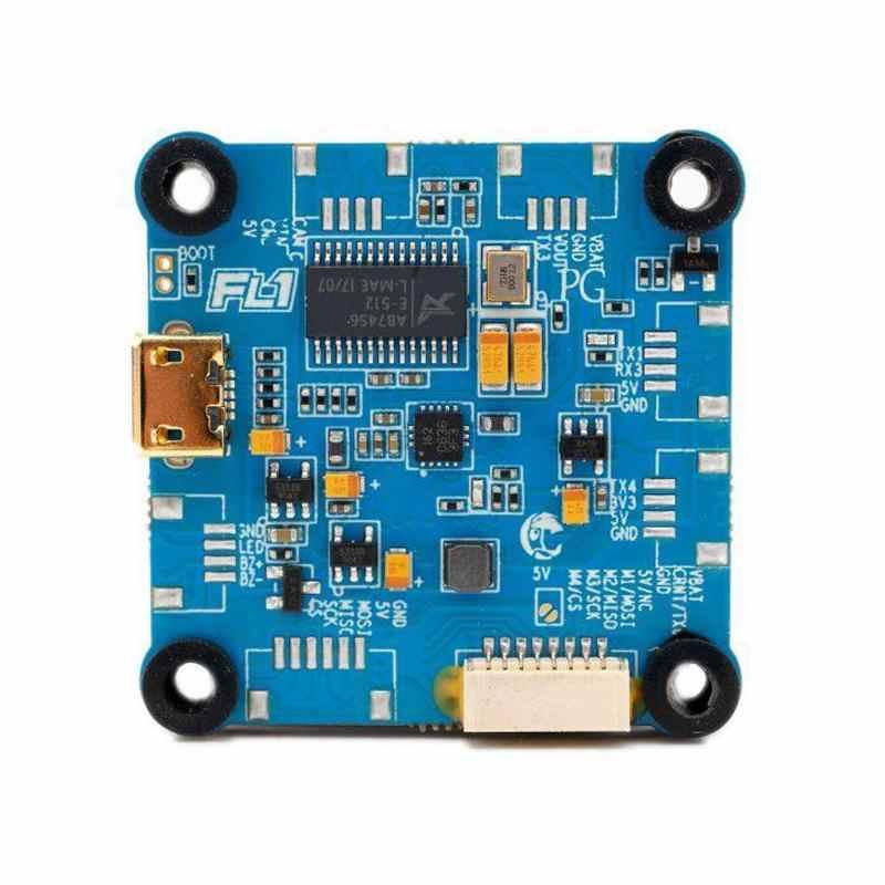 30.5x30.5mm FlightOne Revolt OSD Lite 2-6S F405 contrôleur de vol pour RC Drone FPV quadrirotor Multicopter pièces de rechange Accs