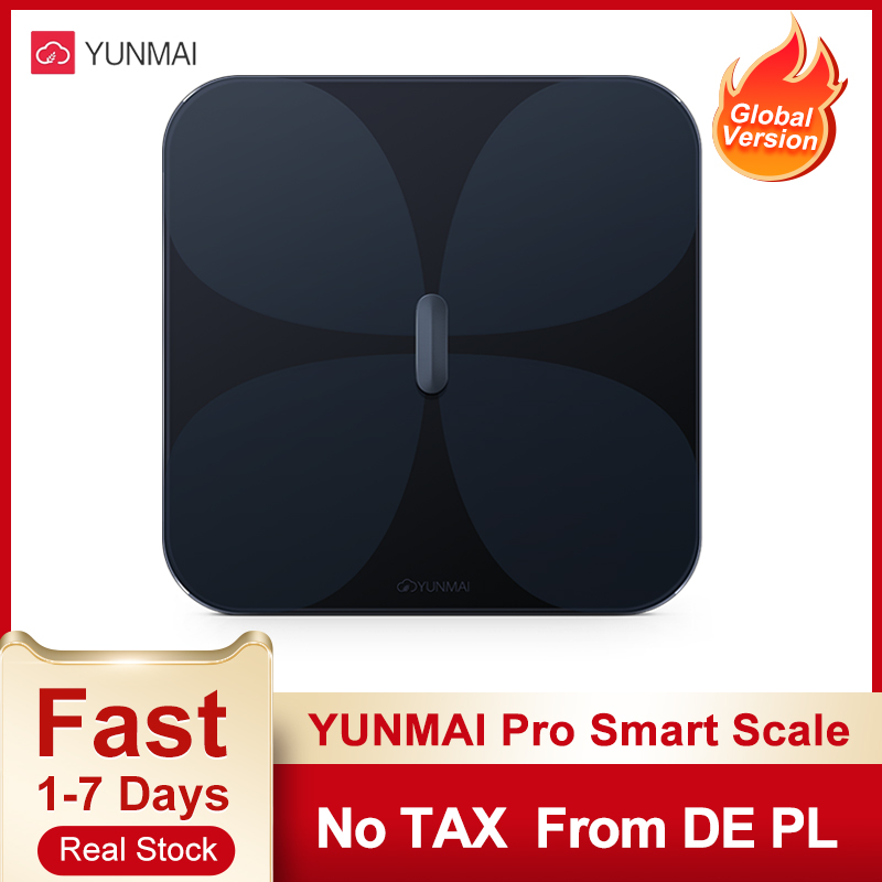 Yunmai Body Fat Scale Smart Electronic Scales LED Digital Screen Bluetooth App Control Health Balance Body Composition Analyzer