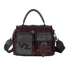 2020 новая женская сумка Бостонская тоут Роскошные брендовые