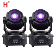 цена на 90w Led Spot Moving Head Lights Stage Lighting Party Light Dmx 512 High Brightness Stage Lighting Effect for Disco DJ 2pcs/lot