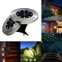 Street-Light Courtyard-Lamp Lawn Stair-Yard Garden Solar Outdoor Waterproof Led Ip66