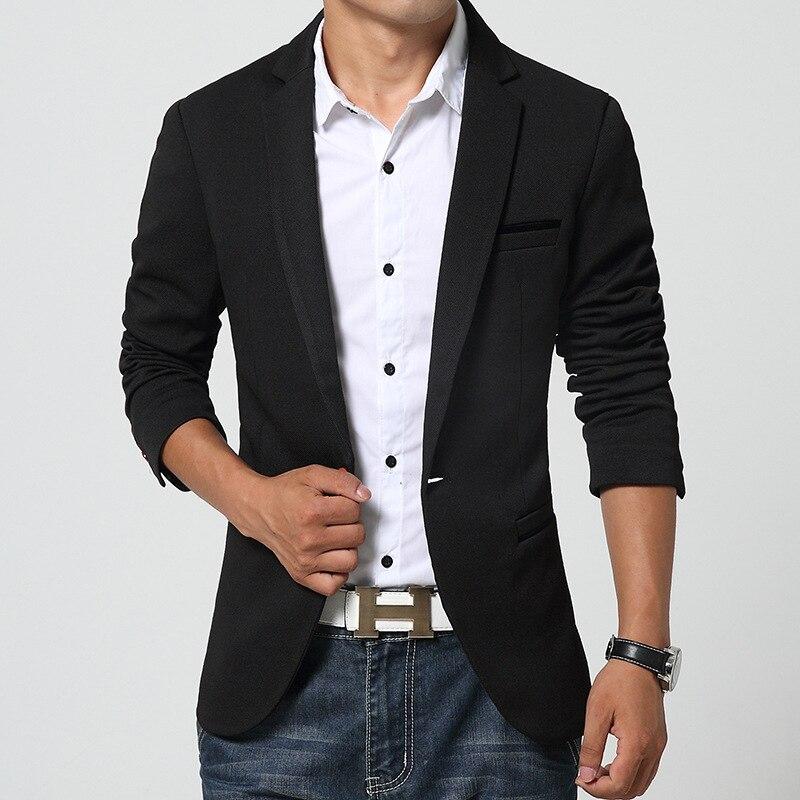 2018 MEN'S Casual Suit Slim Fit Suit Men'S Wear Fashion Suit Jacket Men Suit AliExpress Men's