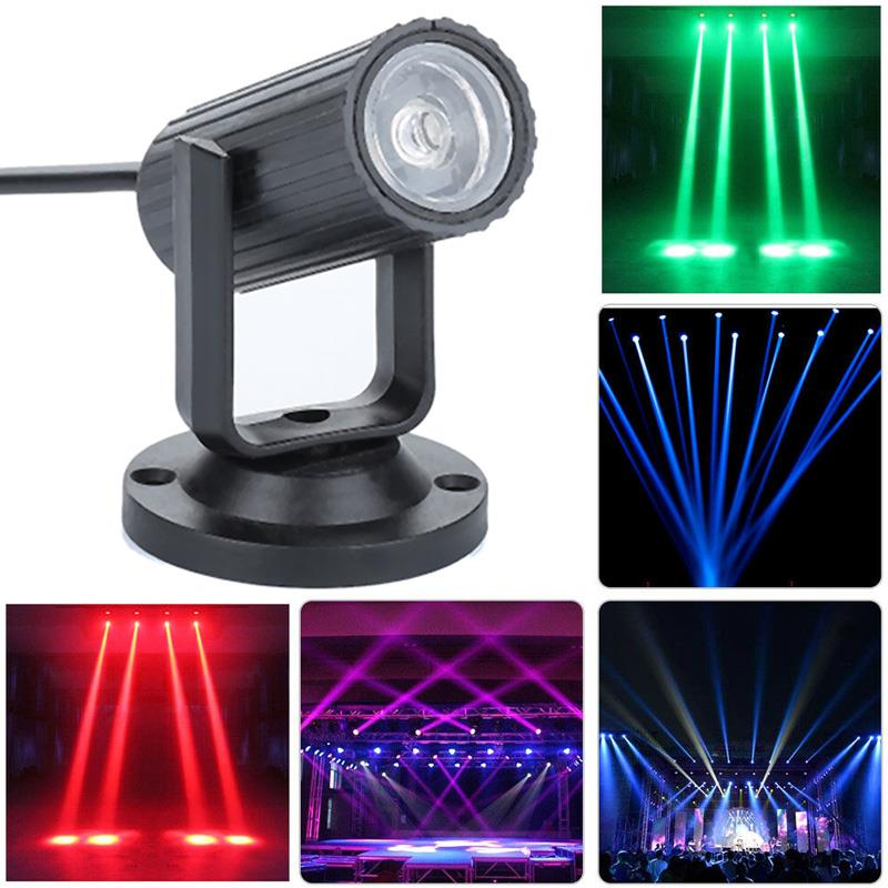 Stage Lamp Beam Lights LED Mood Light Adjustable Mini Portable Wedding Supplies Disco Light Smart Stage Lights Laser Projector