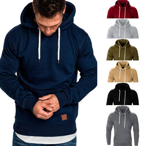 2019 NEW Sweatshirt Autumn Winter Casual Hoodies Men Long Sleeve Solid Hoodie men big size hombre Top Blouse Tracksuits 8.27(China)