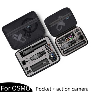 Image 4 - Portable storage bag Shockproof Carrying Case Protective Box For DJI Osmo Action GoPro Hero 8 7 6 5 Sports camera Accessories