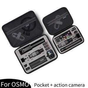 Image 4 - 휴대용 스토리지 가방 Shockproof 운반 케이스 DJI Osmo 액션 보호 상자 GoPro 영웅 8 7 6 5 스포츠 카메라 액세서리