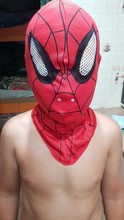 New Super Cool Spiderman Mask & Gloves Adult and Kids Full Head Spiderman Mask Halloween Dress Up for Party Hood Masks