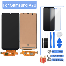 AAA +++  LCD For Samsung Galaxy A70 A705 A705F SM-A705MN Screen With Frame No Dead Pixel Display Touch Screen Digitizer Assembly