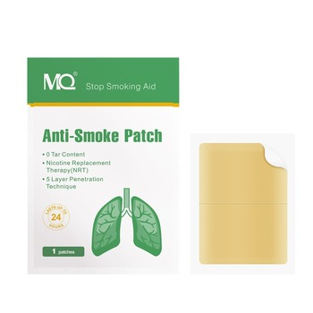 MQ Anti Smoke Patch 21mg Nicotine Content Nicotine Patches Transdermal Fast Effective Stop Smoking Aid Support CE Approved недорого