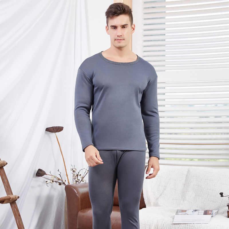 Épais chaud hiver sous-vêtement thermique pour hommes femmes Thermo vêtements velours femme hiver pyjamas ensemble thermique costume mâle Long Johns