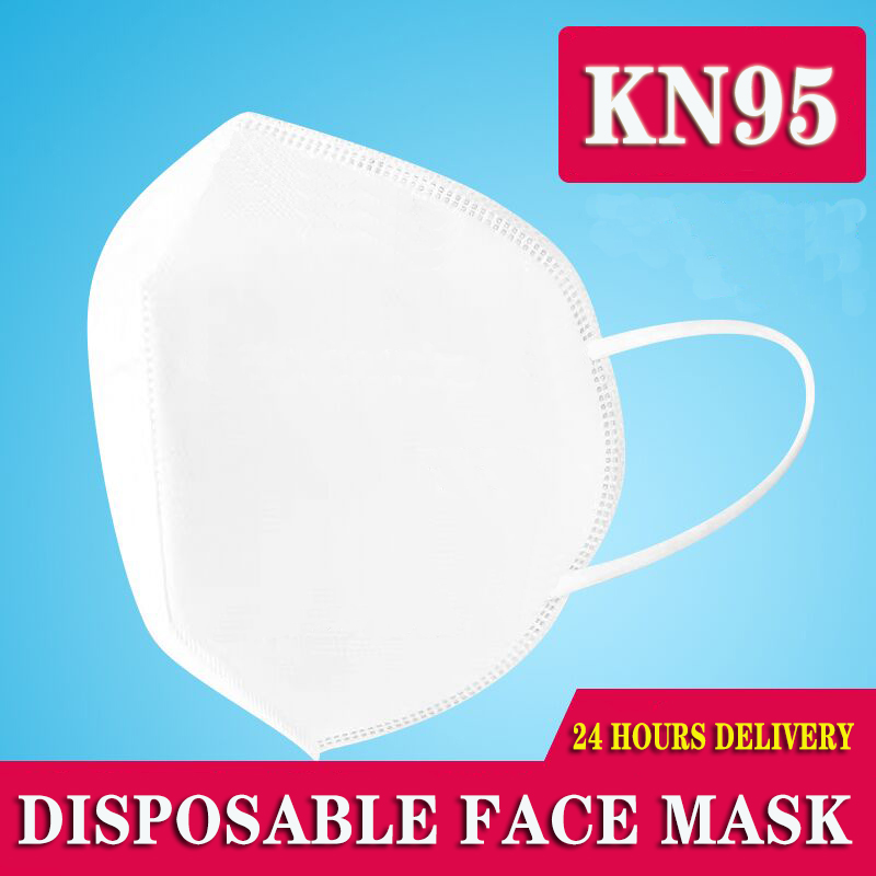 1PCS Disposable Protective Mask 3 Layers Dustproof Facial Protective Cover Masks Maldehyde Prevent Bacteria Anti-virus Masks