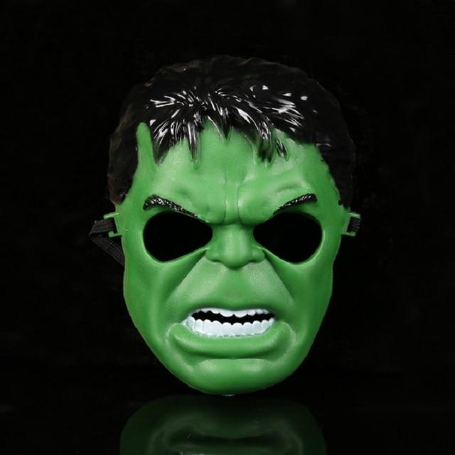 Cosplay Superhero Halloween Mask for Kid & Adult Avengers Marvel Captain America Spiderman Hulk Iron Man Star Wars Mask 3