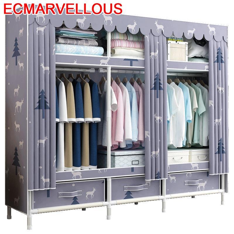 Gabinete Garderobe Home Armoire Kleiderschrank Moveis Rangement Chambre Cabinet font b Closet b font Mueble Bedroom