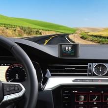 OBD Smart Digital Meter HUD P10 Head Up Display Car Electrics Multi function For Car Speedometer Temperature RPM Mileage Guage