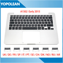 Top-Case Keyboard Macbook Sweden Germany A1502 Russian for Pro Retina 13-UK French Spain
