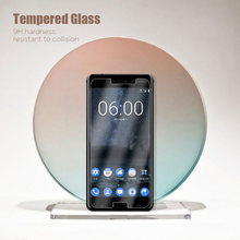 HD Phone Glass Film For Nokia 5/5.1/6/6.1/6.2 Plus Screen Protector For Nokia 7/7.1/7.2 Plus Clear Glass(China)