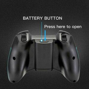 Image 4 - EasySMX ESM 9013 Tay Cầm Chơi Game Không Dây Cho Máy Tính Điện Thoại Android TV Box Bộ Điều Khiển Joystick Rung Vibration Joypad Tay Cầm Chơi Game Cho PS3 PC Game Thủ