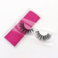 A Pair Of Natural Mink False Eyelashes Thick Fake Eyelashes Dramatic Soft False Eyelash Extension Makeup Wholesale