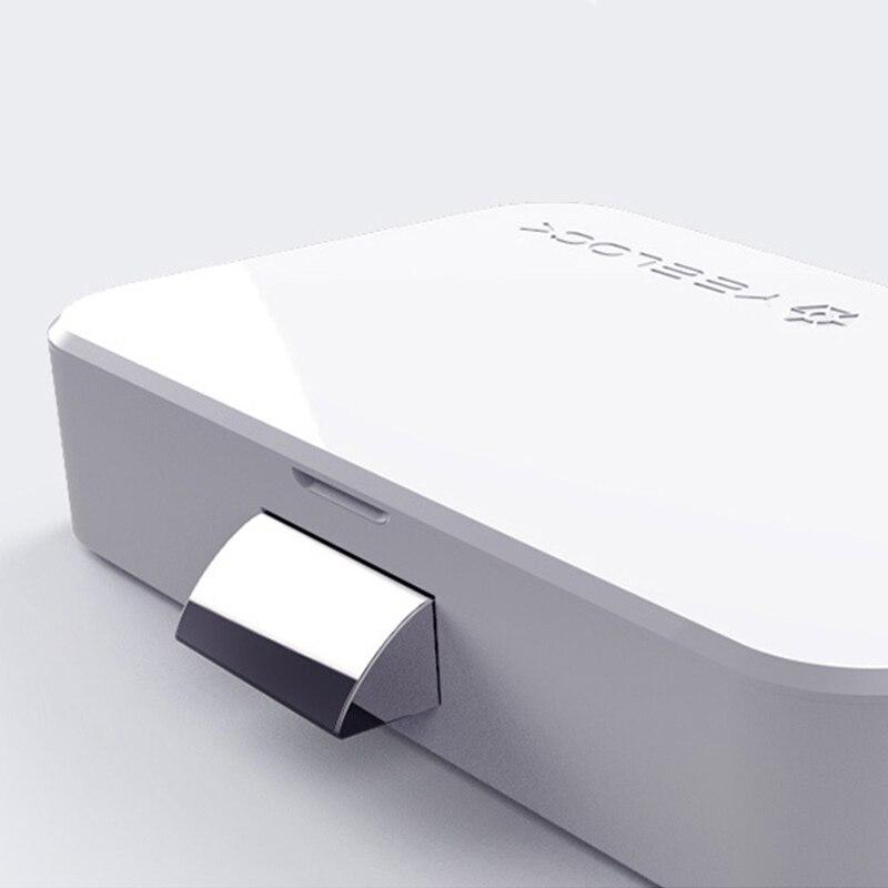 lowest price Original Youpin YEELOCK Smart Drawer Cabinet Lock Keyless Bluetooth APP Unlock Anti-Theft Child Safety File Security