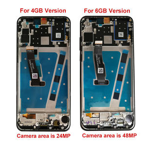 Image 2 - 2312*1080 AAAคุณภาพจอLCDกรอบสำหรับHUAWEI P30 LiteจอแสดงผลLcdสำหรับHUAWEI P30 Lite nova 4e MAR LX1 LX2 AL01