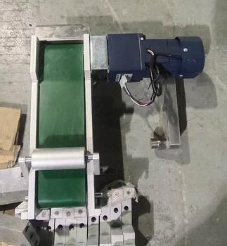 Urządzenie maskujące akcesoria maszyna z litej folii przenośnik taśmowy płaski jeden-do-jeden zespół wyładowczy mały pas linii montażowej tanie i dobre opinie ELECTRICAL CN (pochodzenie) 6 5kg