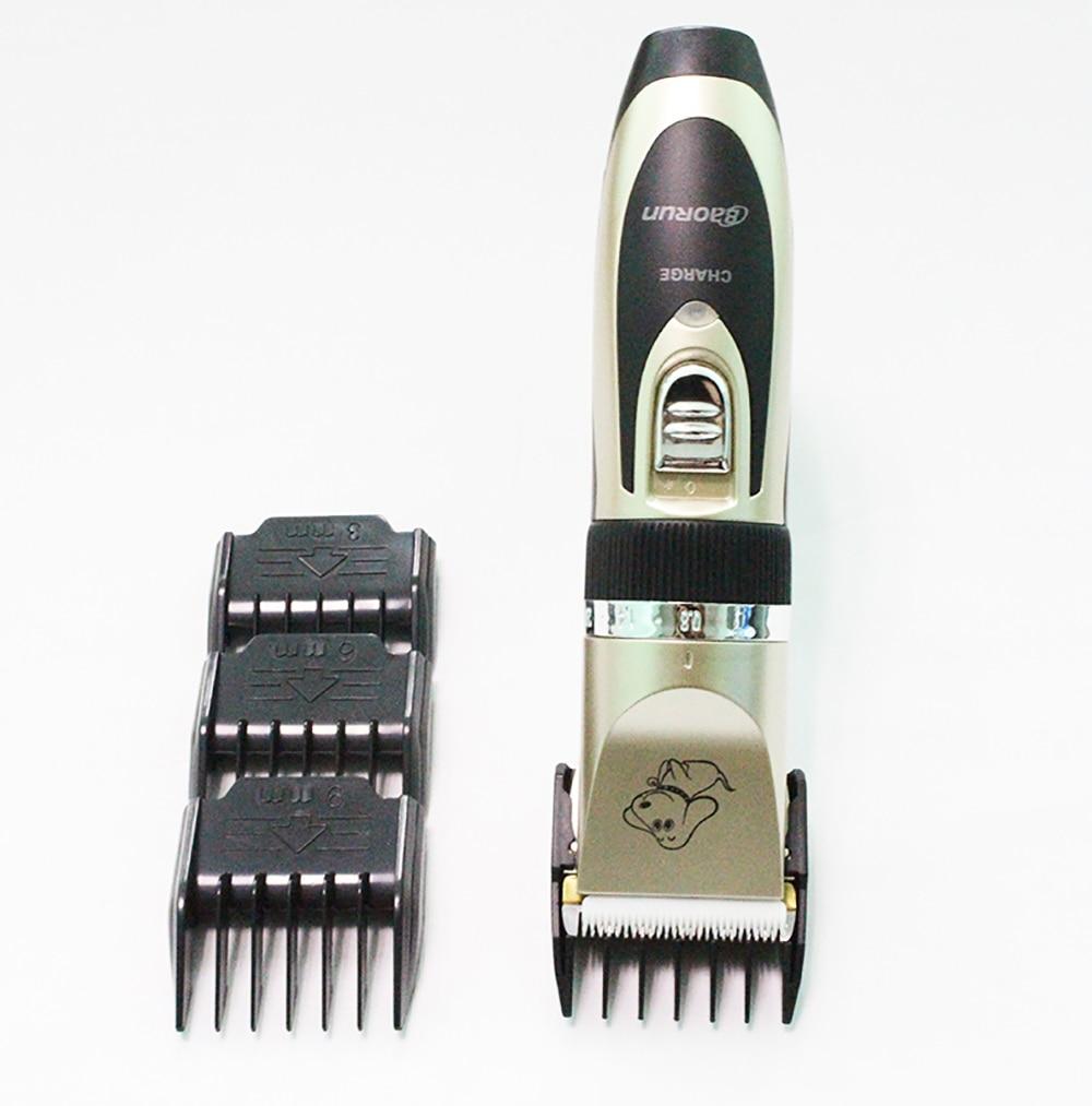 Baorun Professional Pet Dog Hair Trimmer Animal Grooming Clippers Cat Cutter Machine Shaver Electric Scissor Clipper 110-240V AC