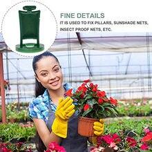 T # serra gancio pianta appendiabiti semi di fiori di plastica cestini appesi per giardino e verdura Patch Nursery Pot Семена Растений