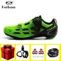 TIEBAO обувь для велоспорта для езды на велосипеде  набор для мужчин  дышащая  самоблокирующаяся  Спортивная  sapatilha ciclismo  велосипедная обувь  ве...