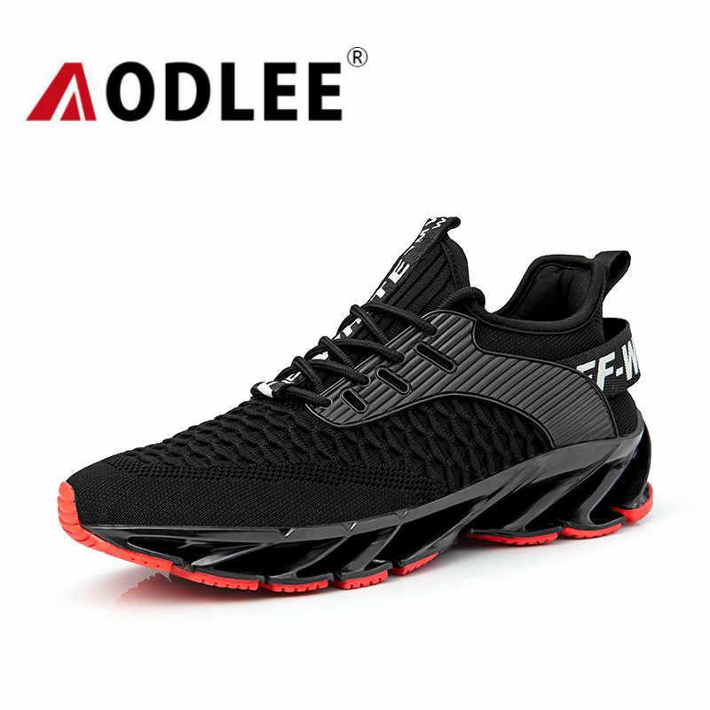 Mannen Sneakers Running Lichtgewicht Comfortabele Ademende Wandelschoenen Voor Mannen Outdoor Casual Koreaanse Versie Sport Schoenen Aodlee