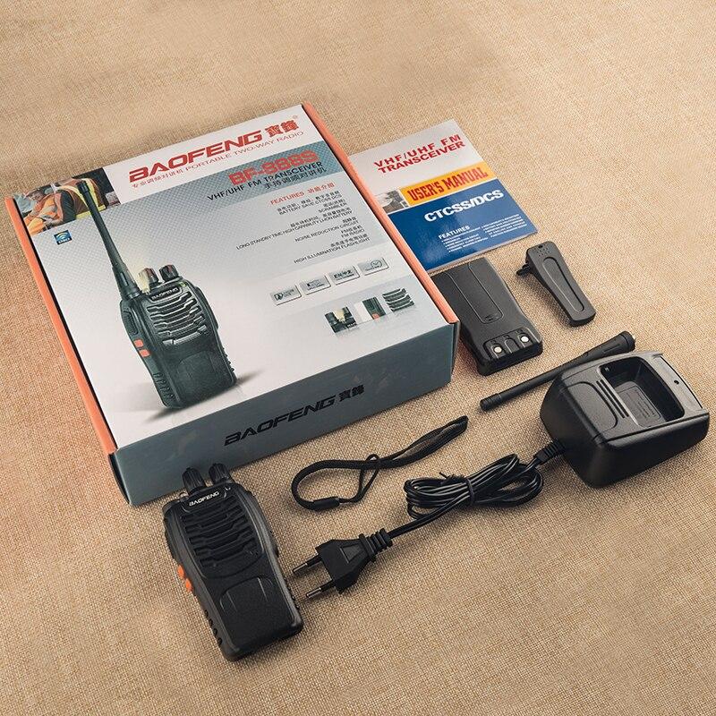 Купить с кэшбэком 4PCS Baofeng BF-888S Walkie Talkie 888s UHF 5W 400-470MHz BF888s BF 888S Two Way Radio