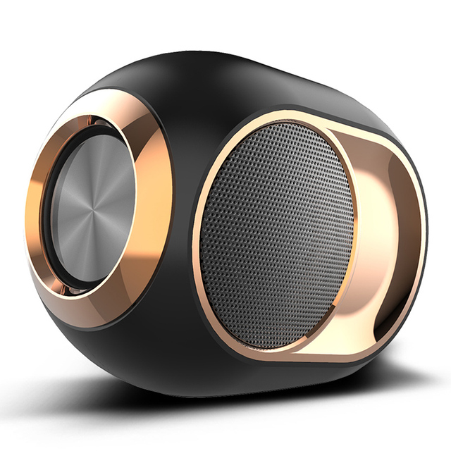 X6 Bluetooth Speaker Subwoofer Wireless TWS Bluetooth 5.0 Dual Channel Support Hands-Free Calling